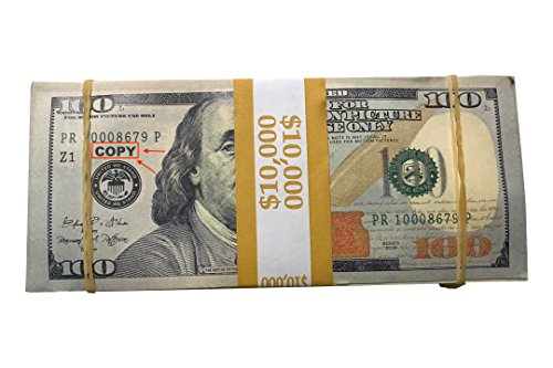 Extremely Real Looking Fake 100 Bills Is Money To Burn