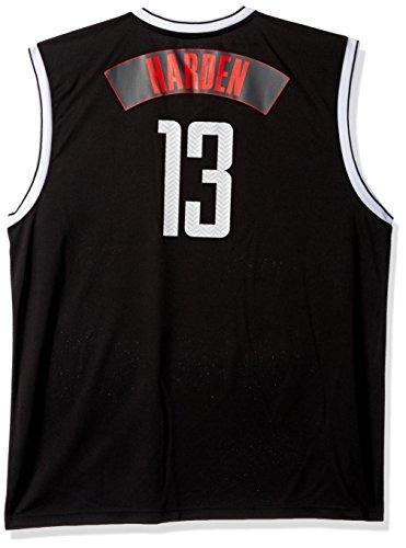 NBA Unisex Houston Rockets James Harden Chevron Fashion Replica Jersey, Small, - James Harden Fashion