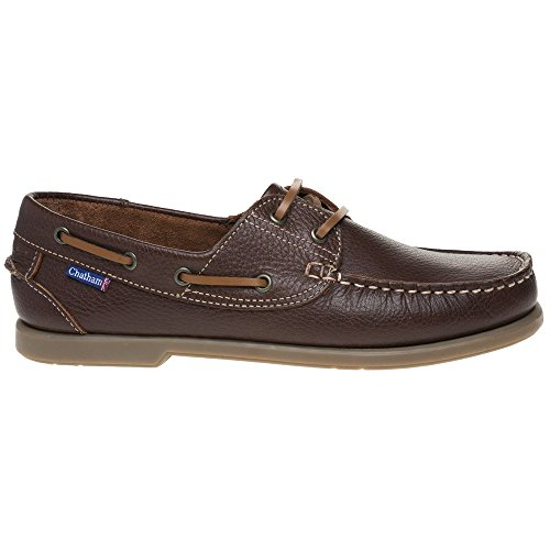 Chatham Uomo The Marine II Marrone Bow Scarpe H4H7qxr