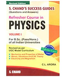Buy Physics for Degree Students B Sc  First Year Book Online