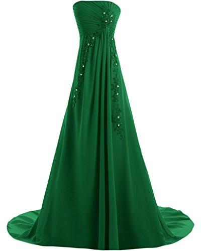 Missdressy - Robe - Trapèze - Femme -  vert - 34