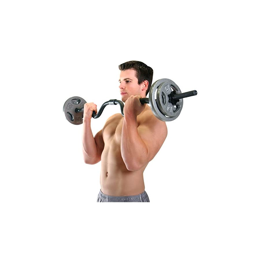 CAP Barbell Super Curl Bar, 48""