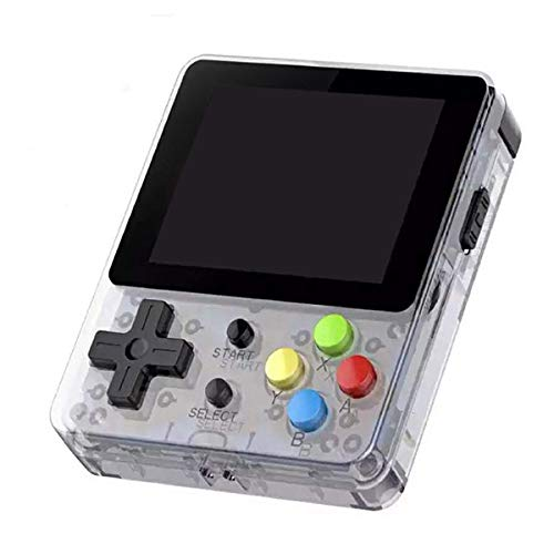 Ocamo LDK 2.6inch Screen Mini Handheld Game Console Nostalgic Children Retro Game Mini Family TV Video Consoles Transparent by Ocamo (Image #7)