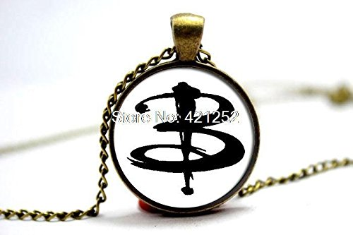 Pretty Lee 2015 Fashion Buffy The Vampire Slayer Necklace Glass Photo Cabochon Necklace Christmas gift