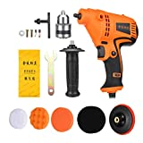 #3 220V 980W 6-Speed Adjustable Car Polisher Power Drill Furniture Polishing Waxing Machine