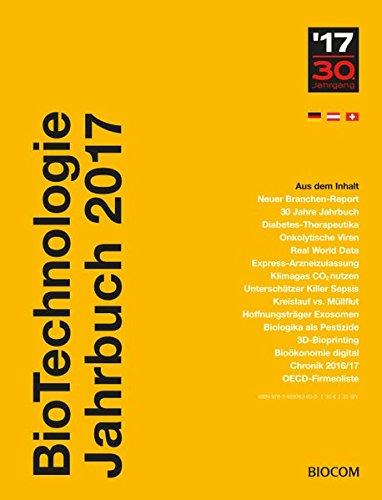 BioTechnologie Jahrbuch 2017