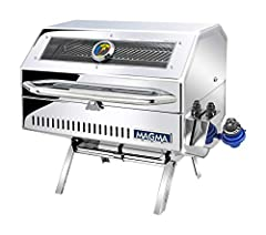 Perfect your grilling skills with Magma's completely redesigned Catalina 2 Infrared Gourmet Series Gas Grill. The perfect addition for feeding a large crew, this versatile, portable, finely crafted grill is always ready for action. New featur...