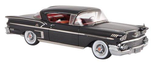 1/43 シボレー ベルエア インパラ 2ドア ハードトップ クーペ 1958 (ブラック) NEO45812