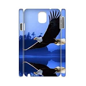 Bald Eagle DIY 3D Cover Case for Samsung Galaxy Note 3 N9000,personalized phone case ygtg579428