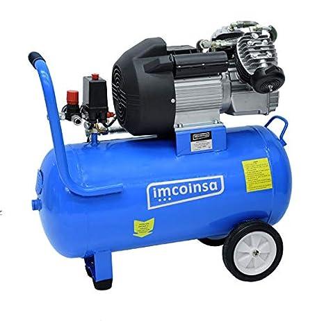 Imcoinsa brico-3/50-m - Electro compresor 50l: Amazon.es: Bricolaje y herramientas