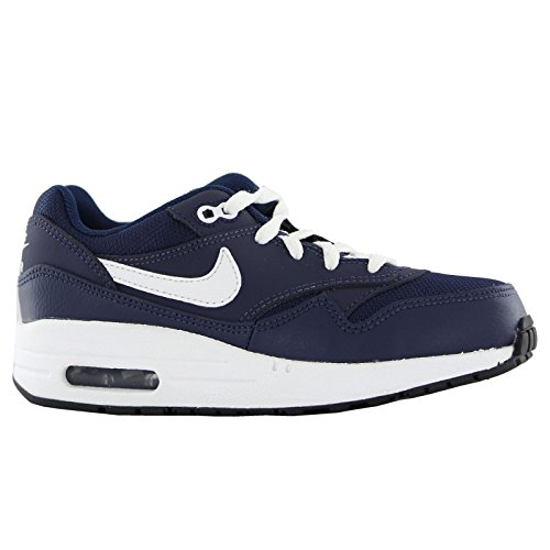 Nike Air Max 1 Navy Kids Trainers Navy