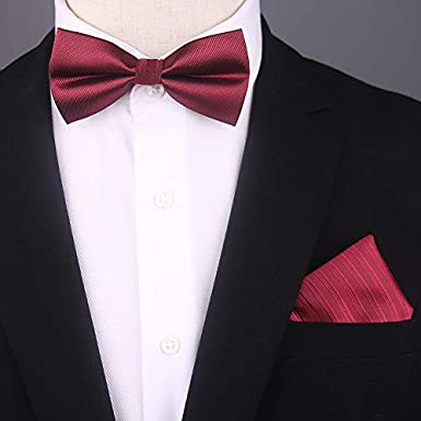 TiePjQE Pajaritas Boutonniere de corbata de moño azul corbata de ...