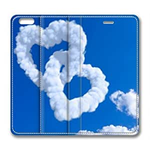 Armener Leather Protective Skin Case Cover For iPhone 6 Plus (5.5 inch) With Romantic Background