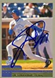 jermaine dye - Jermaine Dye autographed Baseball Card (Kansas City Royals) 2000 Topps #116 - Autographed Baseball Cards
