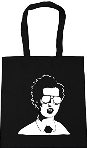 Gym napoleon 42cm Beach 10 dynamite Tote Bag litres Shopping Black HippoWarehouse x38cm IACxawnqw4
