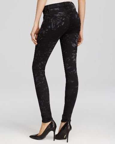 J Brand Women's 620 Mid Rise Super Skinny Jeans, Shattered Glass, 29