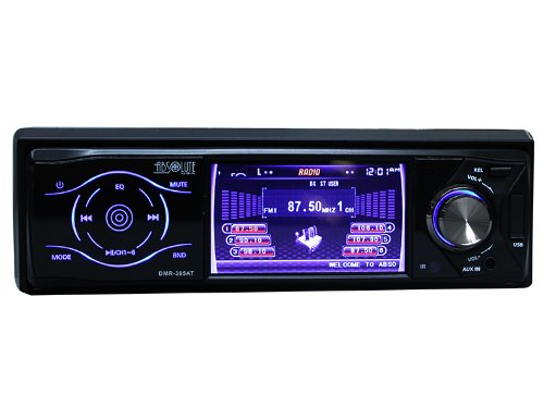 Absolute USA DMR-395AT 3.5-Inch DVD/MP3/CD Multimedia Player Widescreen Receiver with USB, SD Card and Analog TV Tuner