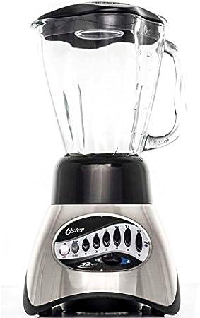 Oster Core Nickel 6826 - Batidora de vaso, 450 W, 12 velocidades ...