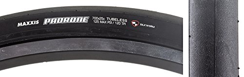 Maxxis Padrone Road Tire 700 x 25 Dual Compound, Silkworm Puncture Protection Black