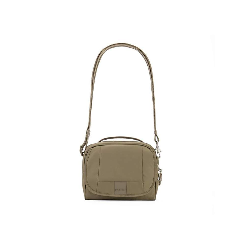 PacSafe Metrosafe Ls140 Anti-Theft Compact Shoulder Travel Cross-Body Bag, Earth Khaki, One Size by Pacsafe (Image #2)