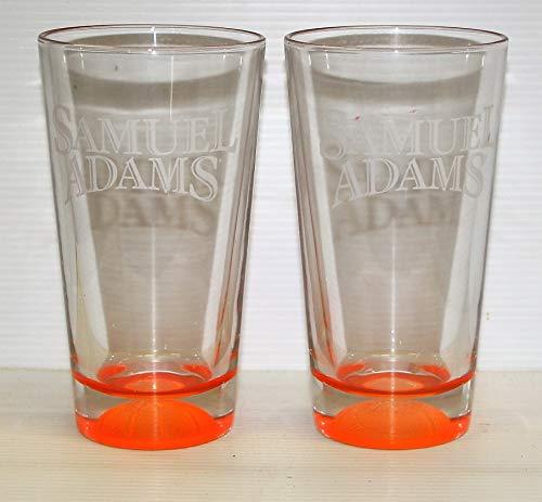 Samuel Adams Lager Beer Basketball Pint Glasses set of 2