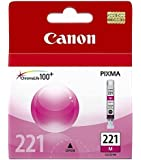 Canon CLI-221M, 2948B001 (CLI221M) Magenta OEM Genuine Inkjet/Ink Cartridge - Retail