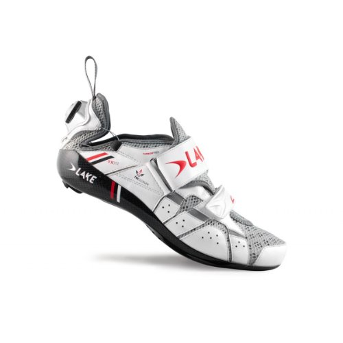 Lake TX312 Mens Triathlon Shoes White 41 Mens
