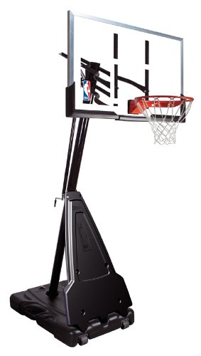 "Spalding 68564 Portable Basketball System - 54"" Aluminum Trim Acrylic Backboard by Spalding"