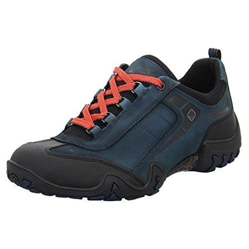 ALLROUNDER by MEPHISTO Womens Fina Tex Sport Shoes Black Rubber/New Petrol G Nubuck