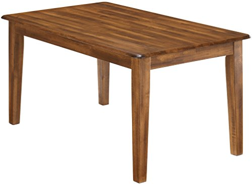 Ashley Furniture Signature Design - Berringer Rectangular Dining Room Table - Vintage Casual - Rustic Brown ()