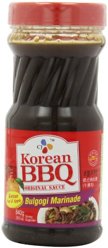 CJ Bulgogi Marinade Korean BBQ Sauce, 29.63 Ounce Bottles (Pack of (Bulgogi Marinade)