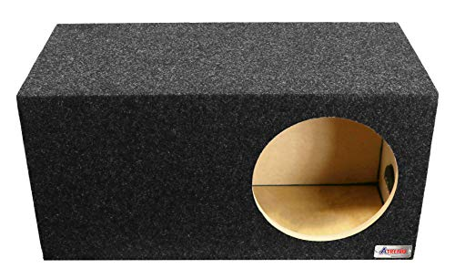 "Atrend 12LSV Single 12"" Vented Carpeted Subwoofer Enclosure for sale  Delivered anywhere in USA"