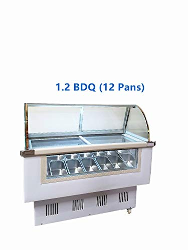 Gelato Freezer Display Case- 1.2BDQ