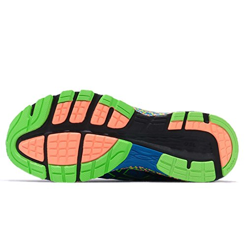Orange HOT ORANGE Electric Men ASICS Gecko Blue GECKO BLUE ELECTRIC Green GREEN HOT Dynaflyte S1qTnx7