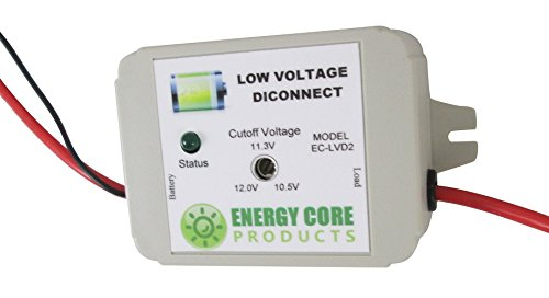 amazon com low voltage battery disconnect ec lvd2 12v 40a solid state by energy core products computers accessories
