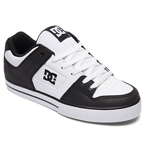 Pure DC Black White Black Shoes UwqZ05f