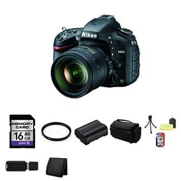 Nikon D610 24.3 MP Cámara con 24 - Lente de 85 mm versión ...
