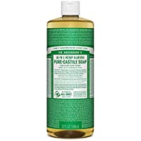 Dr. Bronner's Organic Liquid Soaps Almond at Least 70% Organic, 32 Ounce