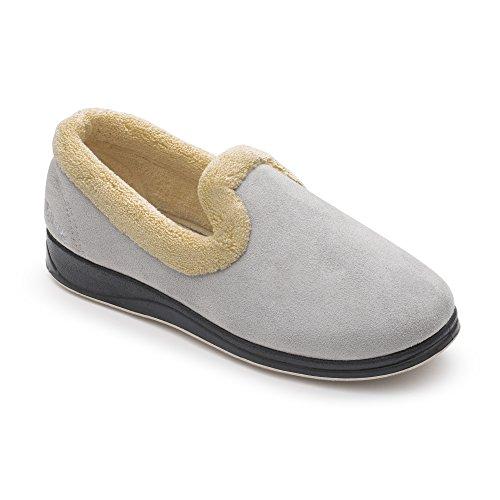 Padders Color De Estar Talla 5 Para Casa Mujer Zapatillas Por Gris 35 Gris prpxqT