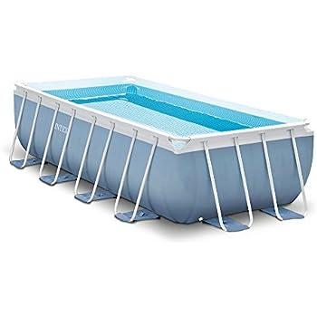 intex ultra frame 18 by 9 foot by 52 inch rectangular pool set older model garden. Black Bedroom Furniture Sets. Home Design Ideas