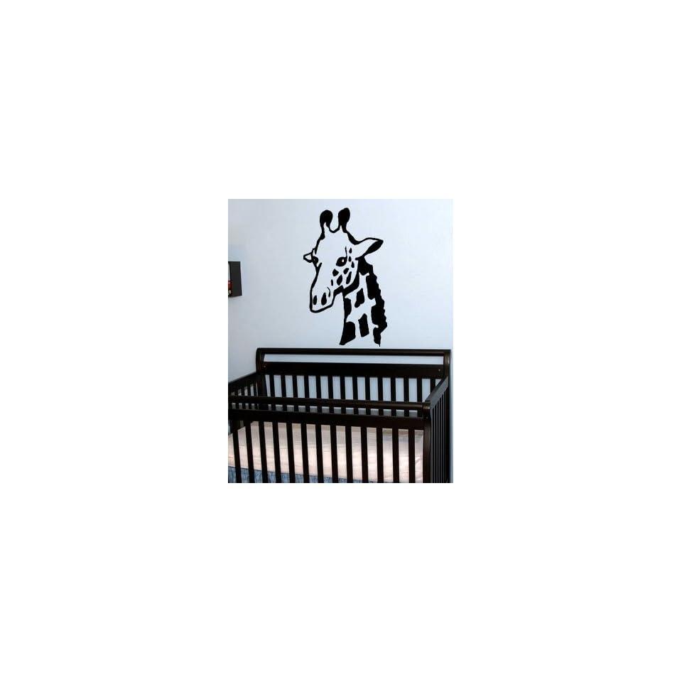 StickerBrand Vinyl Wall Art Decal Sticker Safari Giraffe Neck 36x22 #146A