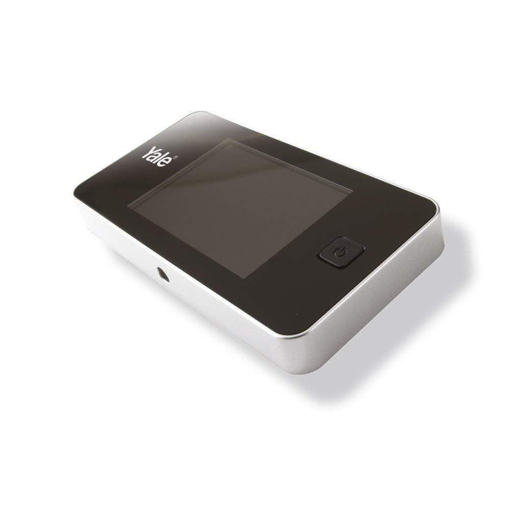 Yale 45050014326010, Mirilla digital estándar Cromada product image