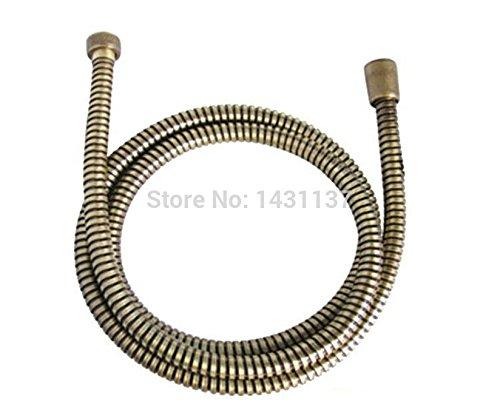 60'' G1/2''B Bronze EPDM Braided Stainless Steel Bathroom 1.5M Flexible Plumbing Hose