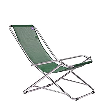 Dondolina Fiam rocking chair aluminum frame and seat in texilene ...