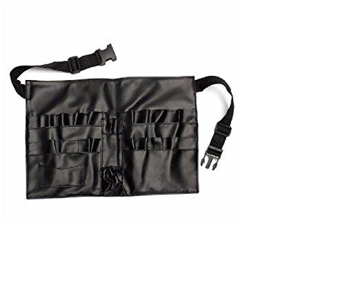 Vinyl Waist Belt - Cameo Cosmetics Professional Vinyl Makeup Apron with Makeup Artist Brush Belt, Light Weight