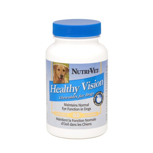 Nutri-Vet Healthy Vision Canine Chewables, 60 count, My Pet Supplies