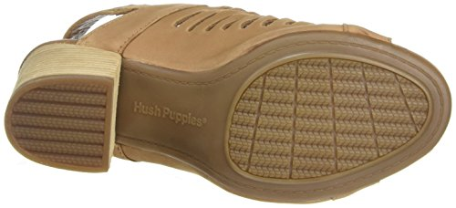 Sidra Hush Tan Heeled Malia Women's Sandal Puppies NuBuck nnqfrPxE