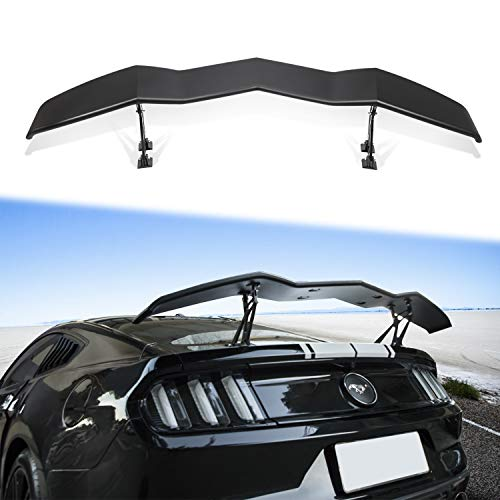 Trunk Spoiler Universal for Chevy Camaro Dodge Charger Challenger Ford Mustang GT Lambo Style Rear Spoiler Wing Tail Lid (61.8inches Length)