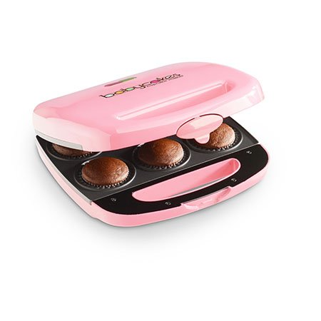 Babycakes Nonstick Coated Mini Cupcake Maker : Pink by Baby Cakes