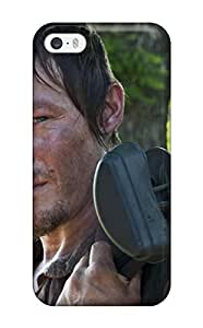 7745180K24602062 Protective Tpu Case With Fashion Design For Iphone 5/5s (the Walking Dead)
